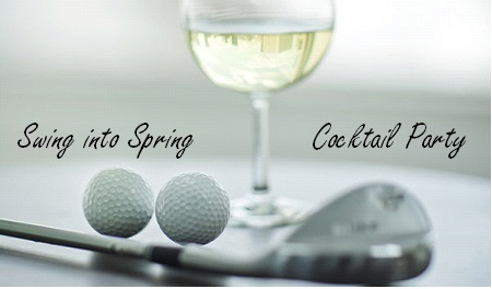 Image of cocktail glasses and golf balls