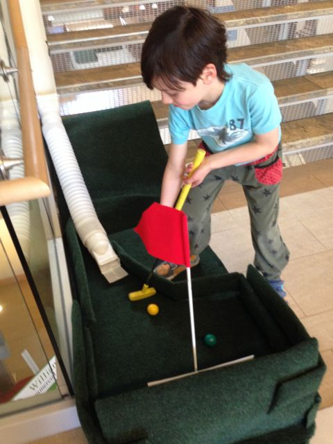 Photo of young golfer